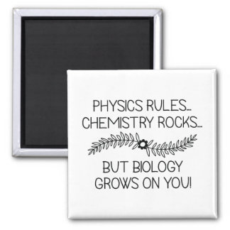 Biology Grows On You Magnet