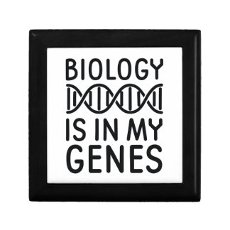 Biology Is In My Genes Gift Box