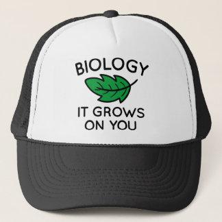 Biology It Grows On You Trucker Hat