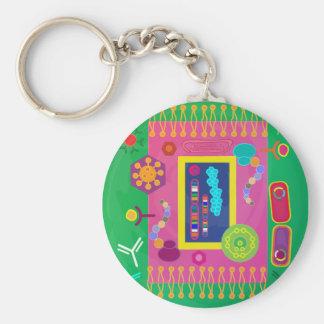 Biology keychain
