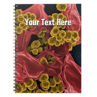 biology microbiology personalized notebook journal