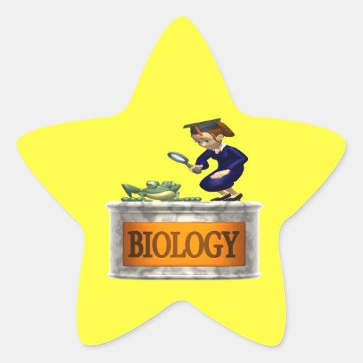 Biology Star Sticker
