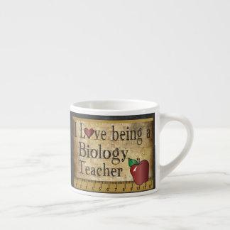 Biology Teacher's Vintage Unique Style Espresso Cup