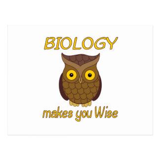 Biology Wise Postcard