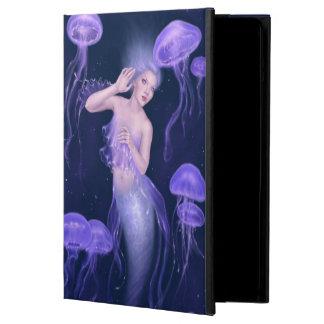 Bioluminescence Jellyfish Mermaid iPad Air Case