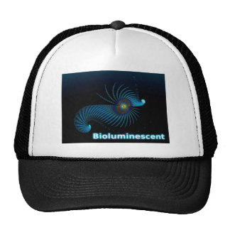 Bioluminescent Alien Sea Creature Cap
