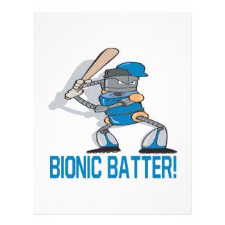 Bionic Batter Flyer Design