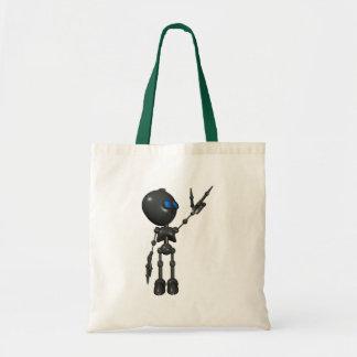 Bionic Boy 3D Robot - Finger Guns 2 - Original Budget Tote Bag