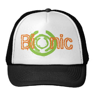 Bionic Edgy Logo Tees and Gifts Cap