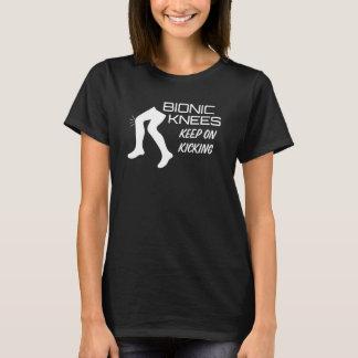 Bionic Knees Keep on Kicking Funny T-Shirt