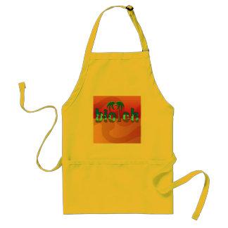 biotch adult apron