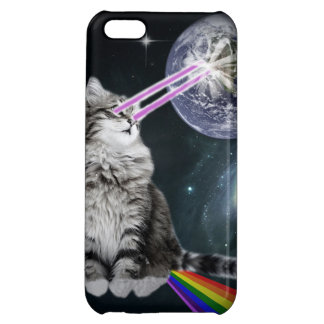 Bioworld Laser Eyes Space Cat iPhone 5C Covers