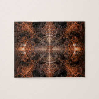 BIP Abstract Digital Fractal Artwork Puzzle