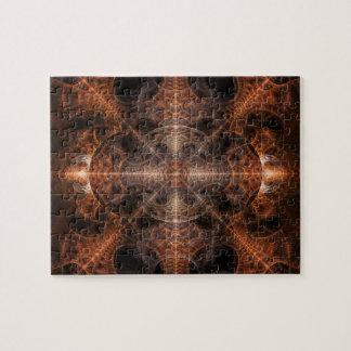 BIP Abstract Digital Fractal Artwork Puzzle