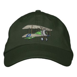 Biplane #2 embroidered hats