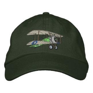 Biplane #2 embroidered cap