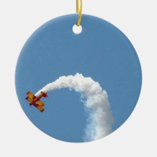 Biplane Aerobatics Ornament