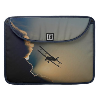 Biplane and sunset sleeve for MacBook pro