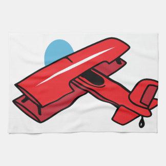 Biplane Larger Hand Towels