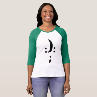 Bipolar Awareness Women's Bella+Canvas 3/4 T-Shirt