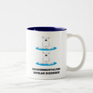 bipolar bears Two-Tone mug