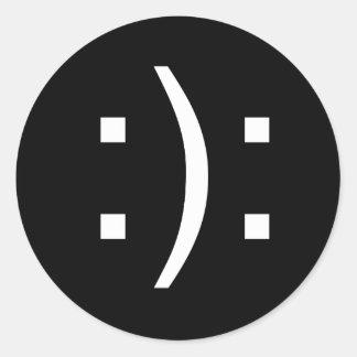 Bipolar Classic Round Sticker