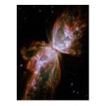 Bipolar Planetary Nebula Postcard