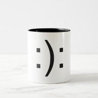 Bipolar Two-Tone Coffee Mug