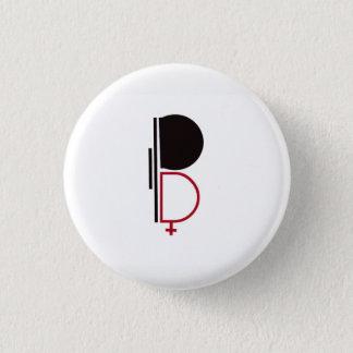 BipolR swipes in 3 Cm Round Badge