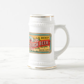 Birch Beer JB Dickey, Newton Kansas, Steins, Mugs