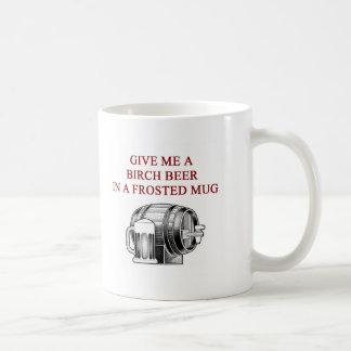 birch beer lover design mugs
