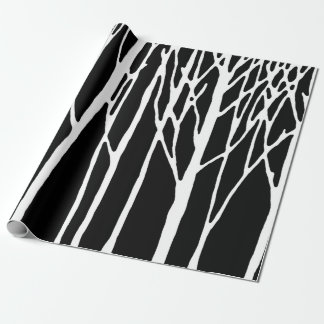 Birch Forest by Leslie Peppers Wrapping Paper