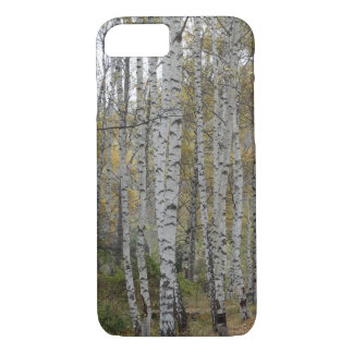 Birch forest Photo Apple iPhone 8/7, Barely There iPhone 8/7 Case