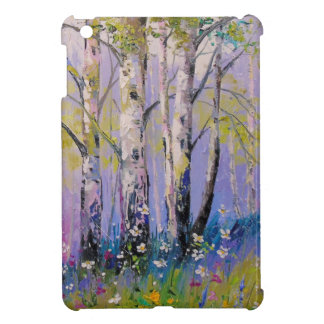 Birch grove cover for the iPad mini