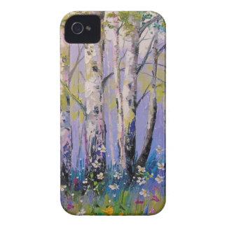 Birch grove iPhone 4 case