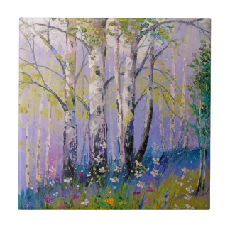 Birch grove tile