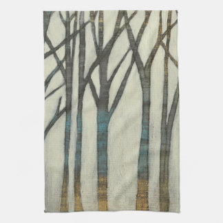 Birch Line I Tea Towel
