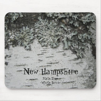 birch, New Hampshire, State Tree ~White Birch~ Mouse Pad