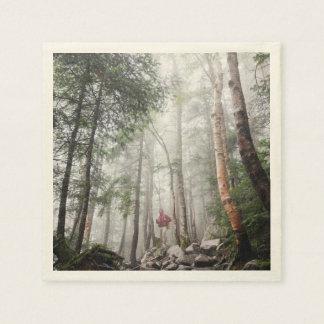 birch paper napkin