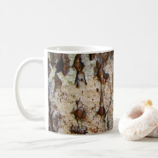 Birch Tree Bark Mug