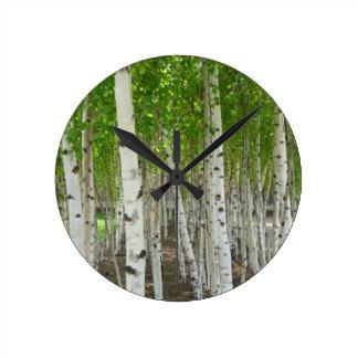 Birch Tree Clock