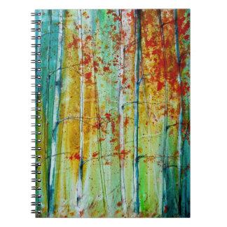 Birch Tree Forest Notebooks