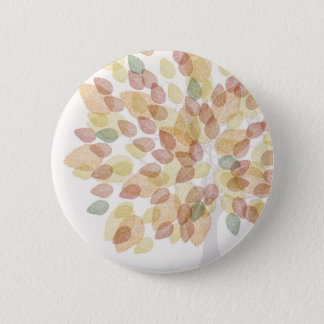 Birch Tree in Fall Colors 6 Cm Round Badge