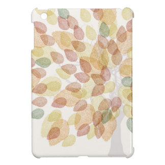 Birch Tree in Fall Colors iPad Mini Cover