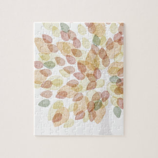 Birch Tree in Fall Colors Jigsaw Puzzle