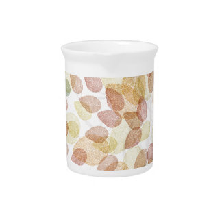 Birch Tree in Fall Colors Pitcher