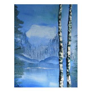 Birch Tree Postcard (vertical)