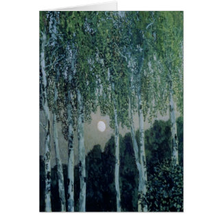 Birch Trees Card