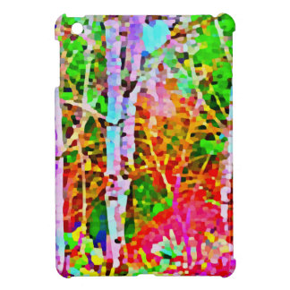 Birch Trees in Springtime iPad Mini Cover