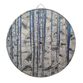 Birch trees Morse Code Dartboard